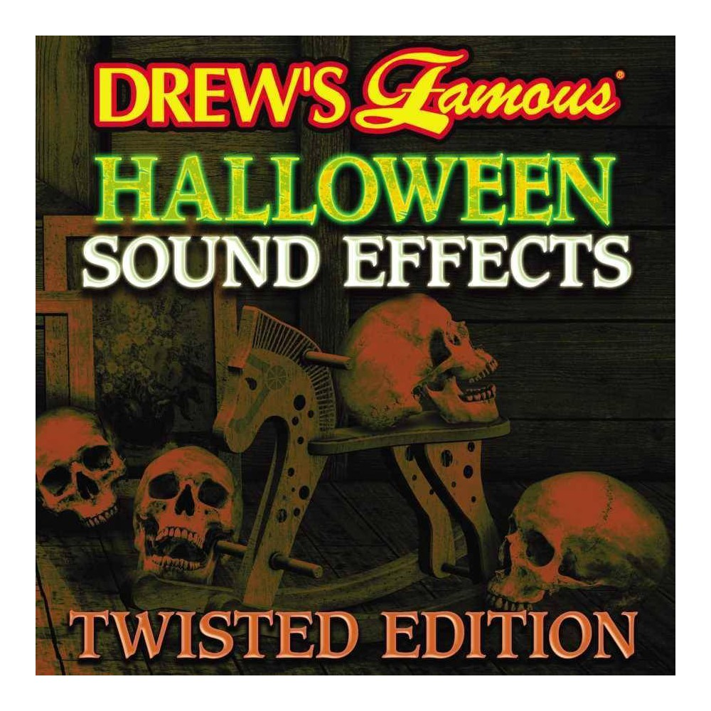 Various Artists Halloween Sound Effects Twisted Edition Cd