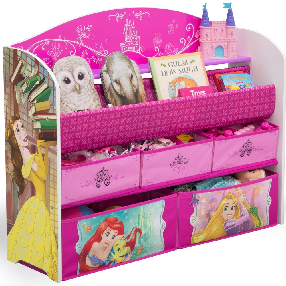 Image of Disney Princess Deluxe Book and Toy Organizer - Delta Children