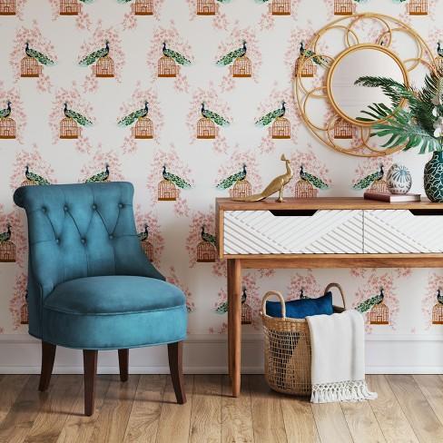Nerine Tufted Velvet Rollback Accent Chair - Opalhouse™ : Target