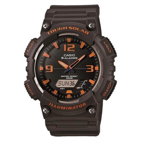 Men's Casio Solar Sport Combination Watch - Gray (AQS810W-8AVCF) - image 1 of 1