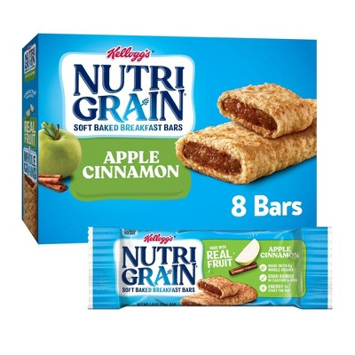 Nutri-Grain Apple Cinnamon Cereal Bars - 8ct - Kellogg's