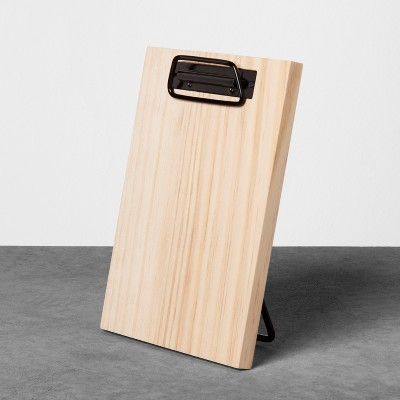 Wooden Memo Desktop Paper Clipboard - Natural - Hearth & Hand™ with Magnolia