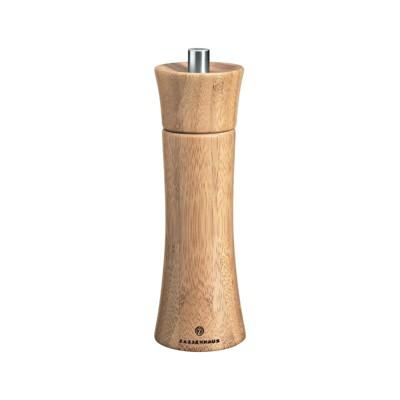 "Zassenhaus, ""Frankfurt"" Pepper mill, 2.3"" dia. x 7"", Bamboo"