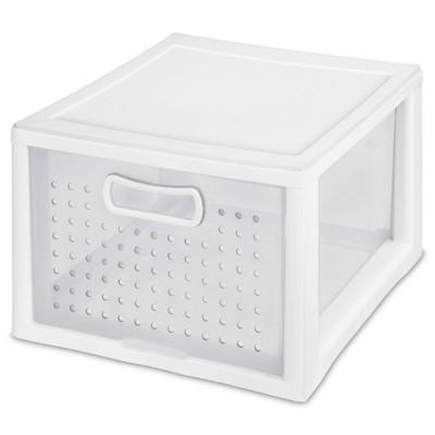 Sterilite Deep Modular Drawer White