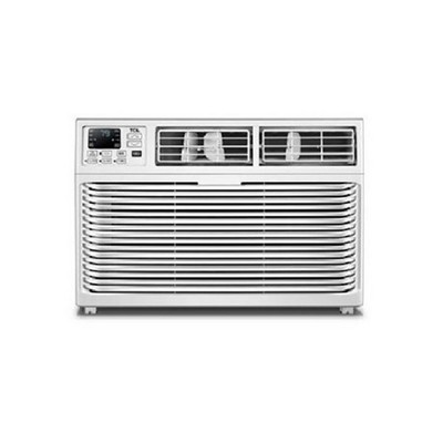 TCL 10W3E1-A 10,000 BTU 3 Fan Speed 8 Directional 450 Square Feet Coverage Cooling Window Air Conditioner with Reusable Filter LED Display
