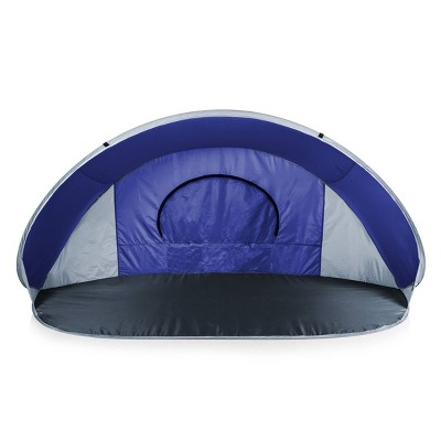 Picnic Time Manta Beach Pop Up Tent  - Blue
