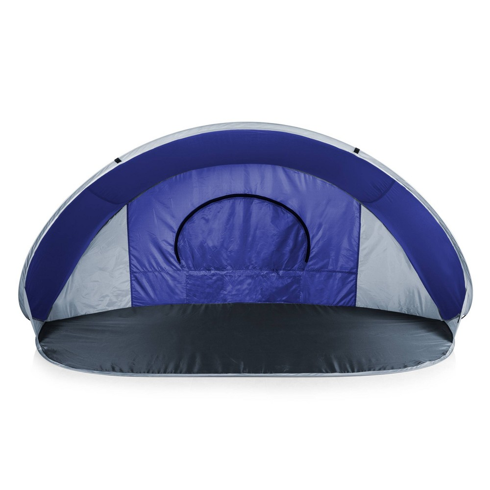 Picnic Time Manta Beach Pop Up Tent Blue