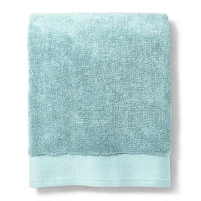 Bath Towel Reserve Solid Bath Towels And Washcloths Silver Blue - Fieldcrest®