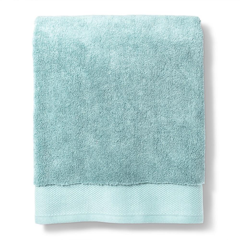 Reserve Solid Bath Towel Dusty Blue - Fieldcrest
