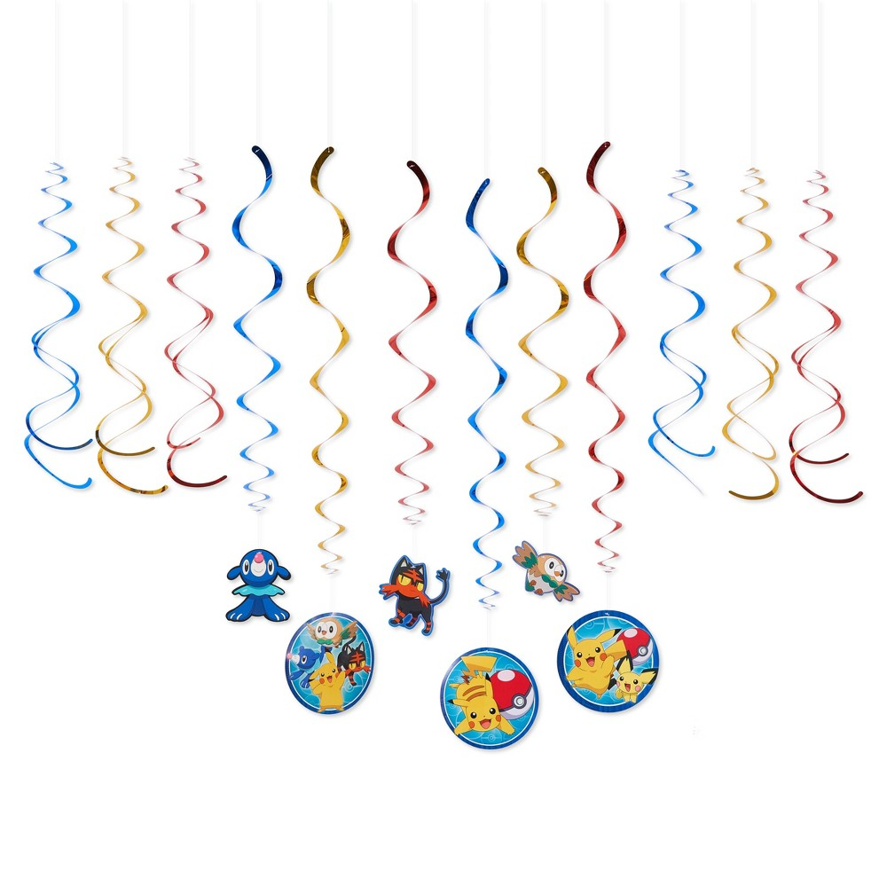 Image of Pokemon Swirl Décor, party decorations and accessories