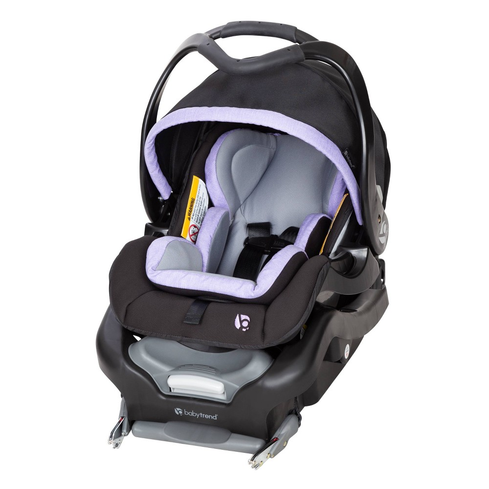 Image of Baby Trend Secure Snap Tech 35 Infant Car Seat - Lavender Ice, Purple White
