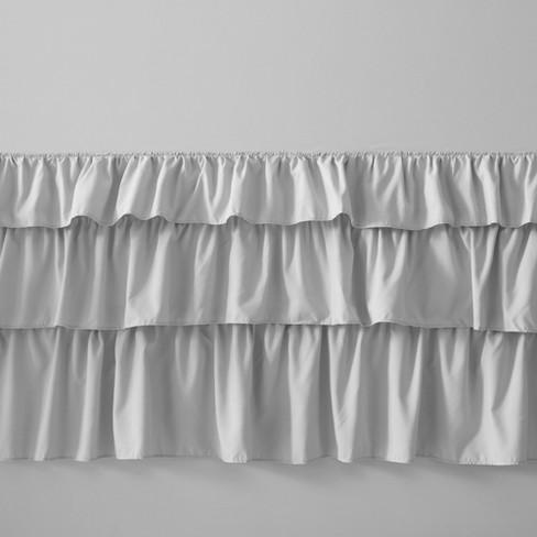 Abby Ruffled Shower Curtain Target