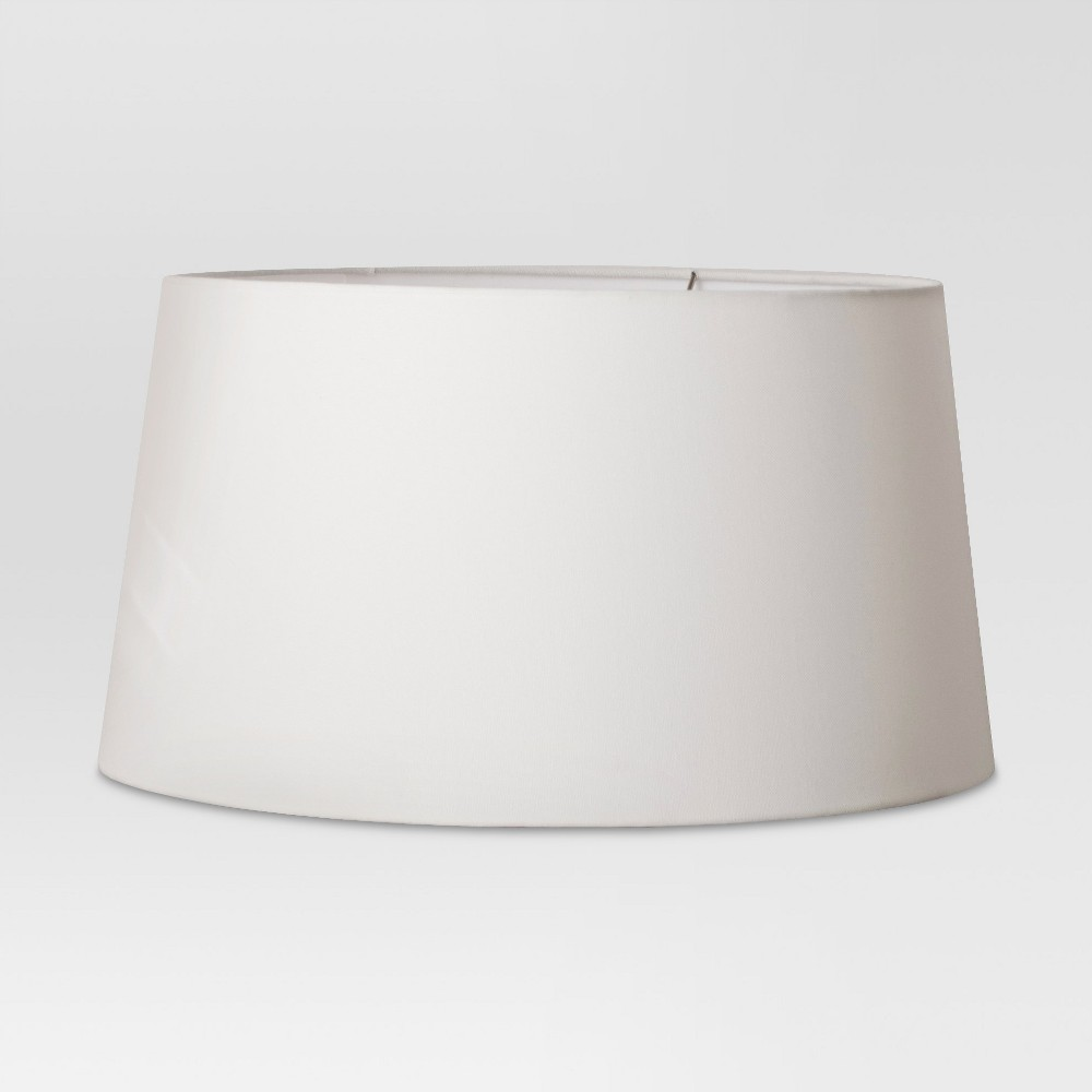 Image of Taper Drum Large Lamp Shade White - Project 62