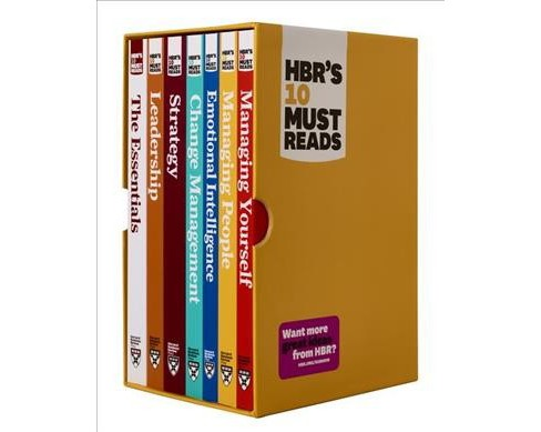 HBR's 10 Must Reads Boxed Set : With Bonus Emotional Intelligence (Paperback) (Peter F. Drucker & - image 1 of 1