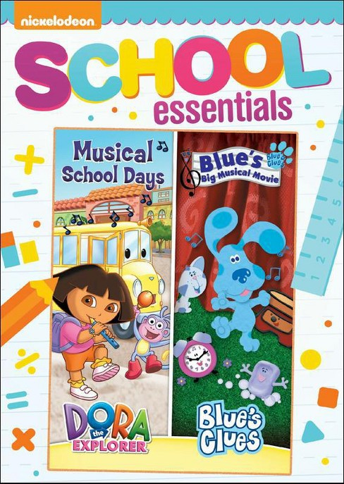 Dora the Explorer: Musical School Days/Blue's Clues: Blue's Big Musical Movie (dvd_video) - image 1 of 1