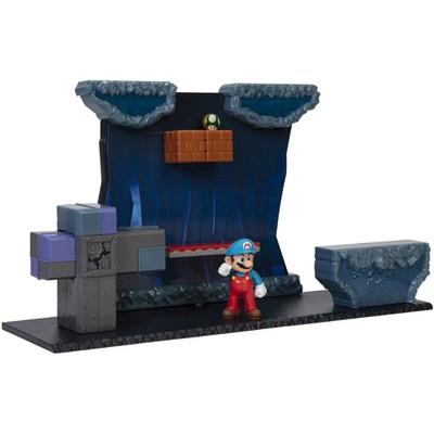 Nintendo Super Mario World of Nintendo 2.5 Inch Figure Underground Deluxe Diorama Playset