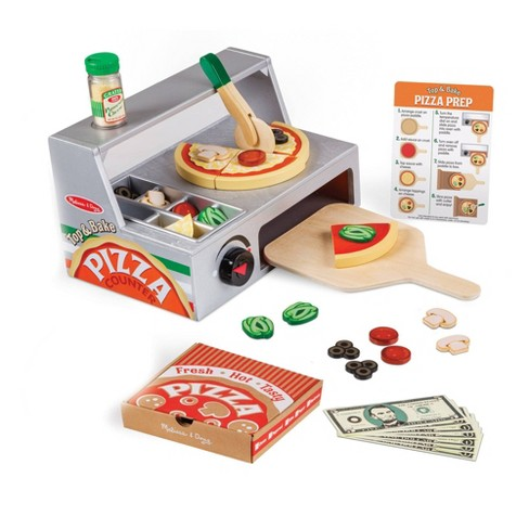 Melissa & Doug Top & Bake Pizza Counter 41pc - image 1 of 4