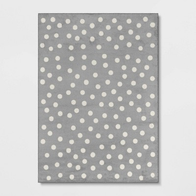5'x7' Polka Dot Rug Gray - Pillowfort™