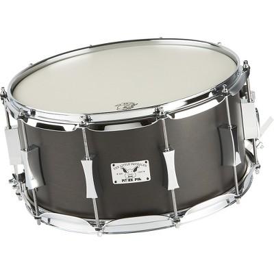 Pork Pie Little Squealer Birch / Mahogany Snare Drum 14 x 7 in. Black Satin