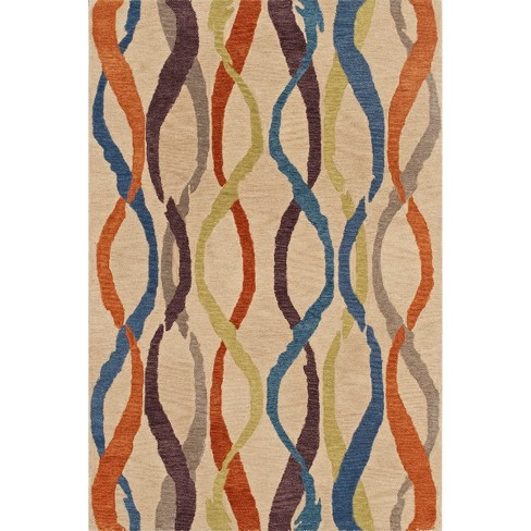 Streamers Wool/Banana Viscose Accent Rug - image 1 of 3