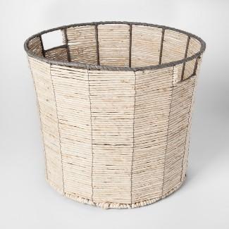 Round Woven Toy Storage Basket Natural - Pillowfort™