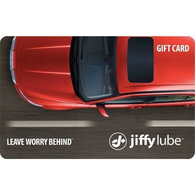 Jiffy Lube Gift Card (Email Delivery)