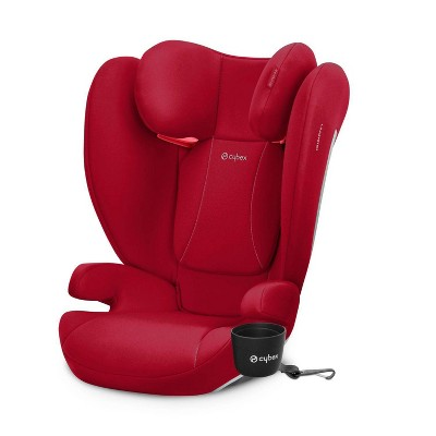 Cybex Solution B-Fix Booster Car Seat - Dynamic Red
