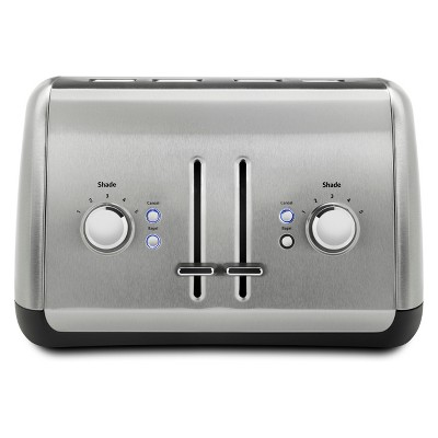 KitchenAid 4 Slice Toaster - Brushed Stainless Steel KMT4115SX