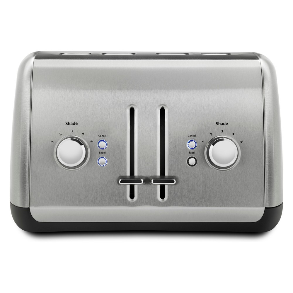 KitchenAid 4 Slice Toaster – Brushed Stainless Steel KMT4115SX 53828675