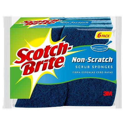Scotch-Brite® 6pk Multi-Purpose Scrub Sponge