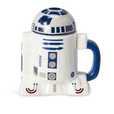Seven20 Star Wars Mug - 10oz R2D2 Cup with Removable Helmet Mug