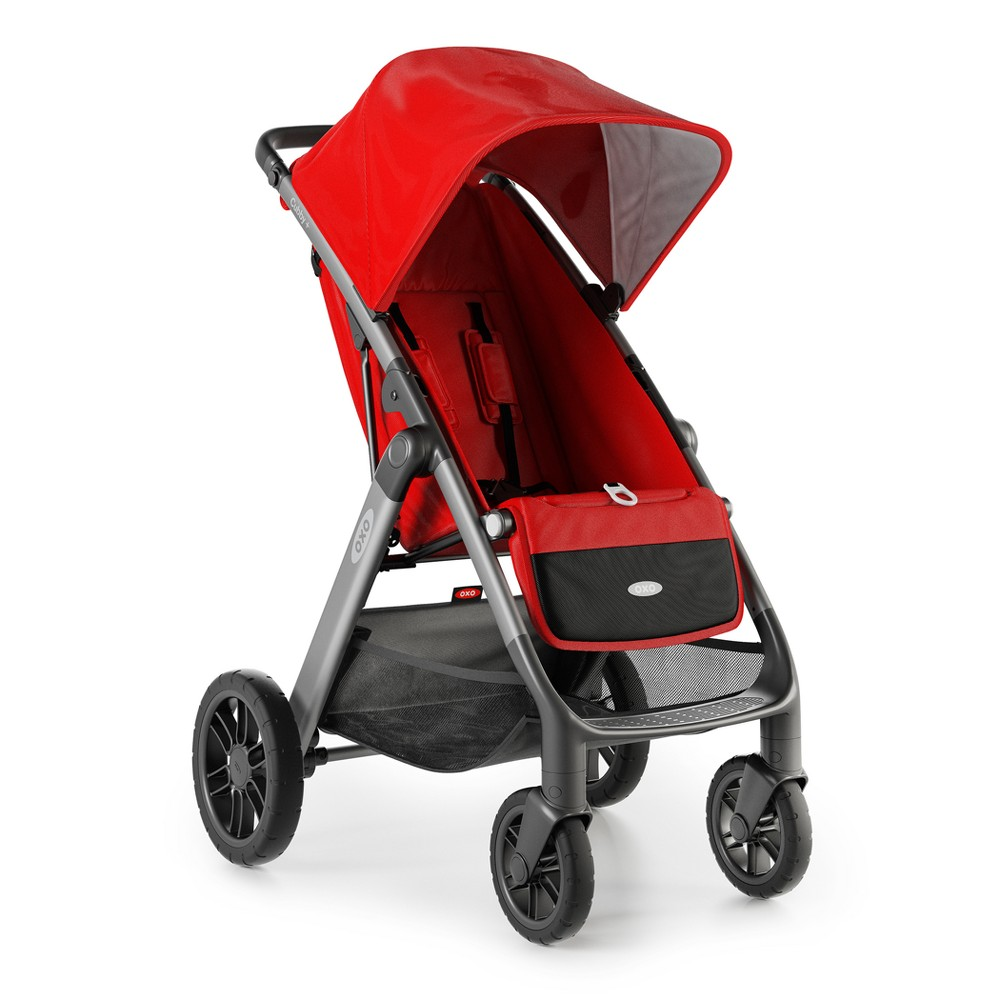 Image of OXO Cubby plus Stroller - Red