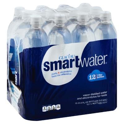 smartwater - 12pk/1 L Bottles