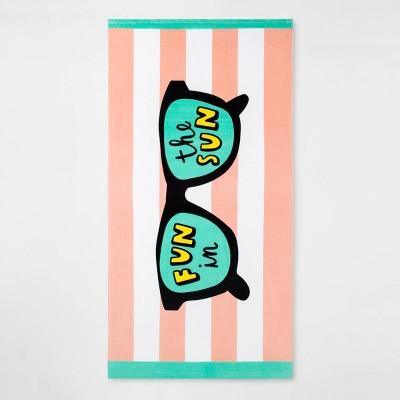 Fun in the Sun Sunglass Beach Towel - Sun Squad™