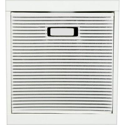 Stripe KD Storage Bin Silver - Pillowfort™