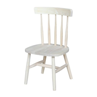 Kids' Chair Set Unfinished Brown - International Concepts