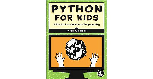 Python for Kids (Paperback) - image 1 of 1
