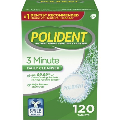 Polident Denture Cleaner Tablets   120ct by 120ct