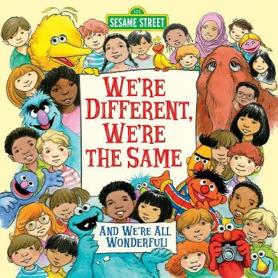 We're Different, We're the Same (Sesame Street) - (Pictureback(r)) by Bobbi Kates (Paperback)