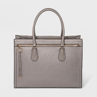 Ring Work Tote Bag - A New Day™ Gray