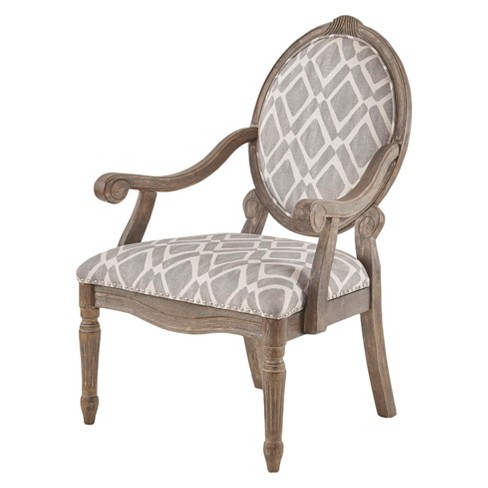 Amazing Hudson Exposed Wood Arm Chair Grey White Gmtry Best Dining Table And Chair Ideas Images Gmtryco