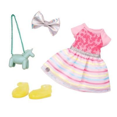 """Glitter Girls Shiny Flowers in Bloom Fashion Outfit for 14"""" Dolls"""