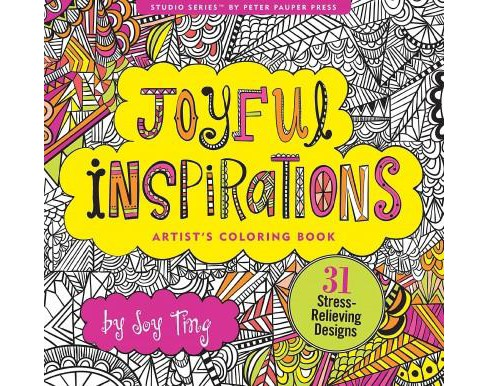 Joyful Inspirations Adult Coloring Book - image 1 of 1