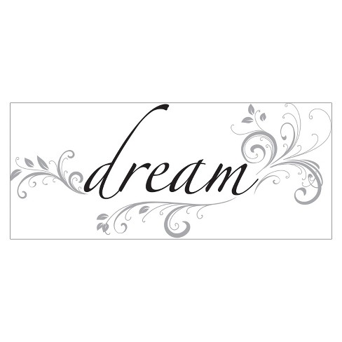 WallPops® Wall Phrase Dream - image 1 of 2