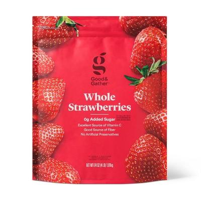 Whole Frozen Strawberries - 64oz - Good & Gather™