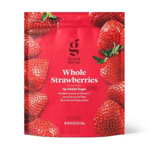Whole Frozen Strawberries - 64oz - Good & Gather™ - image 1 of 2