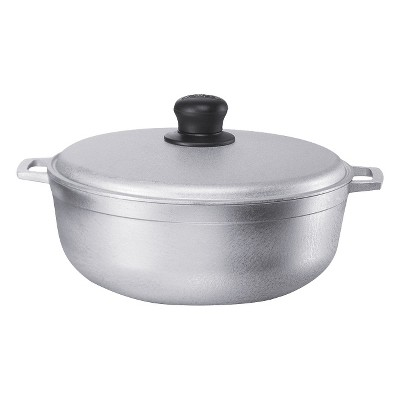 IMUSA 4.8Qt Cast Aluminum Caldero (Dutch Oven)with Lid