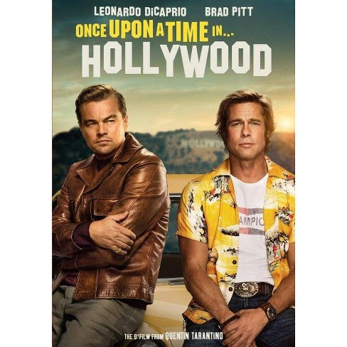 Once Upon A Time In Hollywood (DVD + Digital) : Target