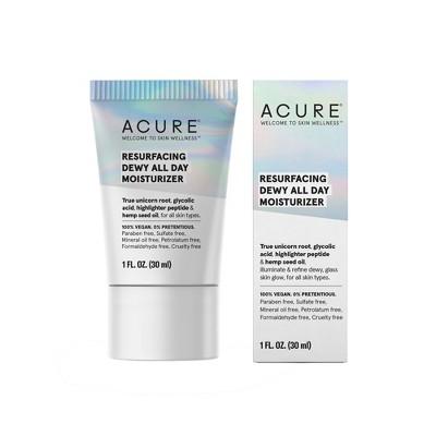 Acure Resurfacing Dewy All Day Moisturizer - 1 fl oz