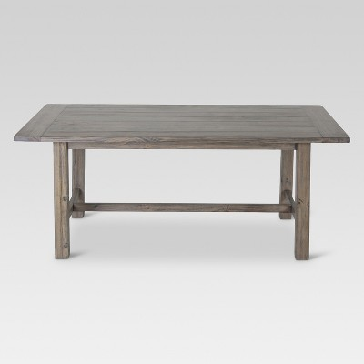 Gilford 72  Rustic Dining Table - Gray - Threshold™